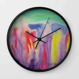 Sprout (within, without and withal) Wall Clock