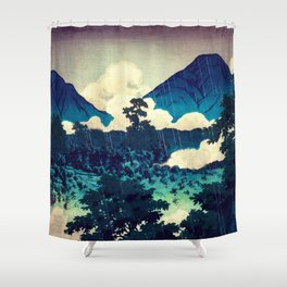 Under the Rain in Doyi Shower Curtain