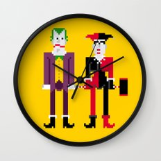 Joker and Harley Quinn Wall Clock