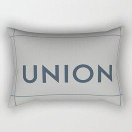UNION | Subway Station Rectangular Pillow