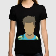 Tyler Durden Fight Club Womens Fitted Tee Black X-LARGE