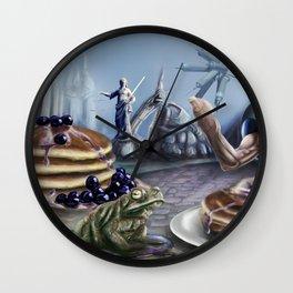 Pancake Justice Wall Clock