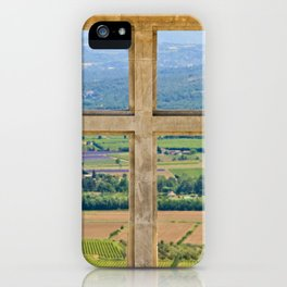 Window To The Luberon iPhone Case