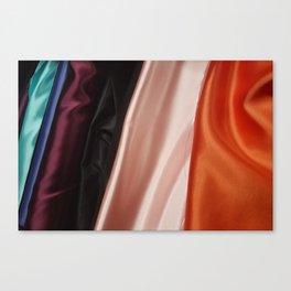 Bolt-Persimmon Canvas Print
