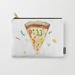 Pizza Day Slice with All the Toppings Carry-All Pouch