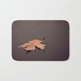 Autumn is a second spring when every leaf is a flower ~ albert camus Bath Mat