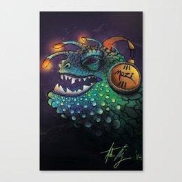Mozi Monster Canvas Print