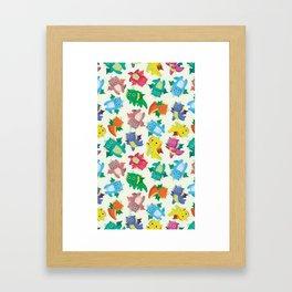 Cute Dragon Framed Art Print