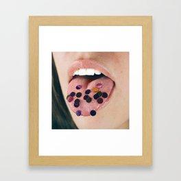 Confetti for Breakfast Framed Art Print