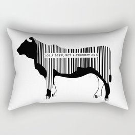 Vegetarian Rectangular Pillow