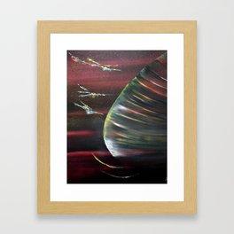 Cosmic beauty Framed Art Print
