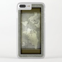 Globe Trotter - Careworn Clear iPhone Case
