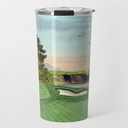 Pebble Beach Golf Course 5th Hole Travel Mug