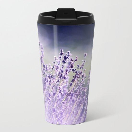 Spring Purple I Metal Travel Mug