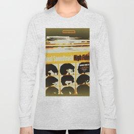 Top High Fidelity List Long Sleeve T-shirt