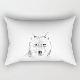 Wolf Rectangular Pillow