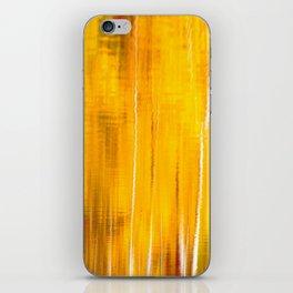 Autumn colors reflecting on the lake surface #decor #buyart #society6 iPhone Skin