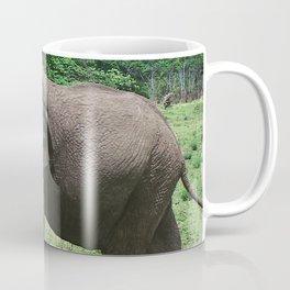 Moments Before the Elephant Charged Us Coffee Mug