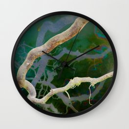 Inverted Art - Reflections 2 Wall Clock