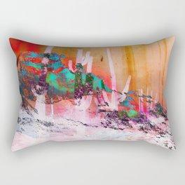 North of Neon Rectangular Pillow