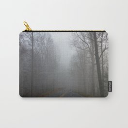 Foggy road Carry-All Pouch