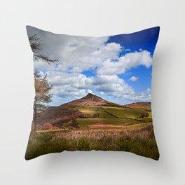 Roseberry Panorama Throw Pillow
