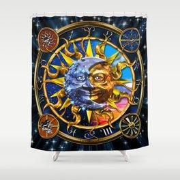 Celestial Union Shower Curtain