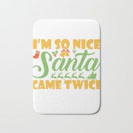Sexy Christmas Versaut Santa funny gift Bath Mat