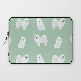 Japanese Spitz pure breed dog pattern pet gifts for dog lovers Laptop Sleeve