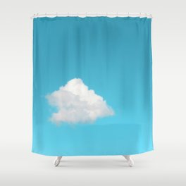 Happy Cloud Shower Curtain