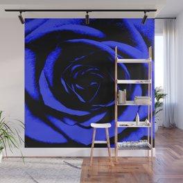 Blue Rose : Pretty Flowers Wall Mural