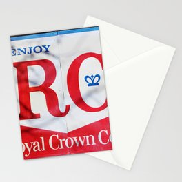RC Cola Sign Stationery Cards