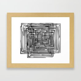 Frame on Frame Framed Art Print