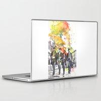 nori Laptop & iPad Skins featuring BE by NORI