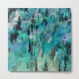 green woods Metal Print