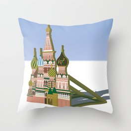Russia Is A Marginal Power Throw Pillow