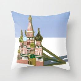 Russia Is A Marginal Power Throw Pillow