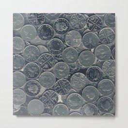 Coins Metal Print