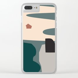 // Shape study #21 Clear iPhone Case