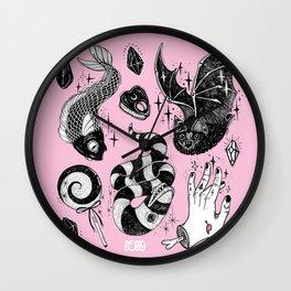 Pink Magic Wall Clock