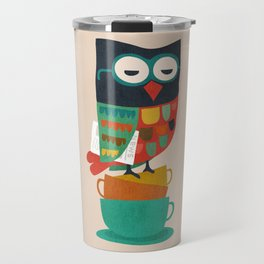 Morning Owl Travel Mug