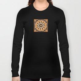 cuadrada mandala Long Sleeve T-shirt