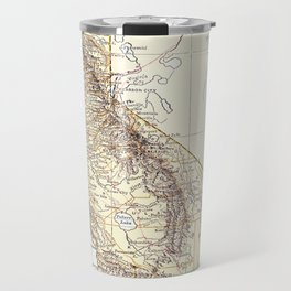 Vintage Map of California (1878)  Travel Mug