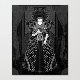Parallaxium Queen Venetia Canvas Print