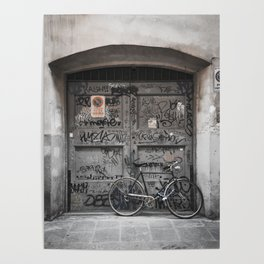 Bicycles Of Tuscany10 Poster