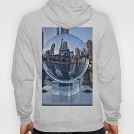 Toronto, Ontario Through Glass Hoody