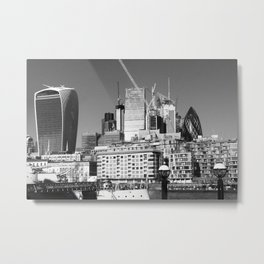 City Of London Skyline Metal Print