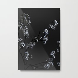 moody flower BEAUTY Metal Print