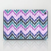 ikat iPad Cases featuring Ikat Chevron by Noonday Design