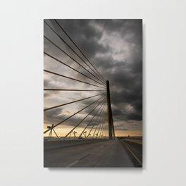 Sunshine Skyway Bridge -- Florida Metal Print